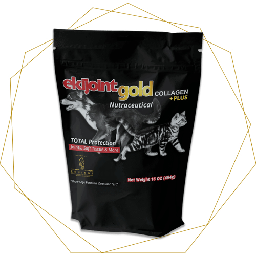 EkiJoint Gold Collagen + Plus - Fórmula para Mascotas 450 gr